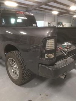 Rear quarter panel Toyota Tundra