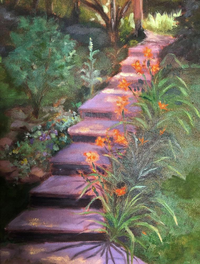 Virginia Donovan - Daylily Steps