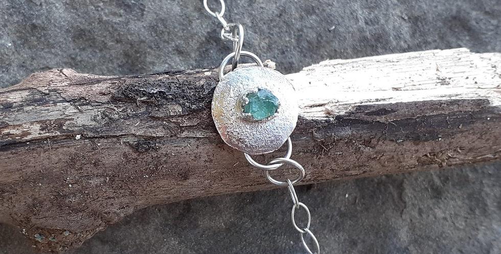 Natural Emerald Bracelet - Immunity Collection