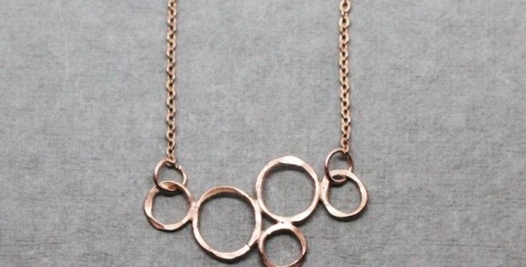 Copper Bubble Necklace