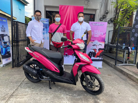 How this Rider Got the TVS Motorcycle Dazz for Free?