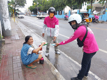 Act of kindness of our Cebu City riders!
