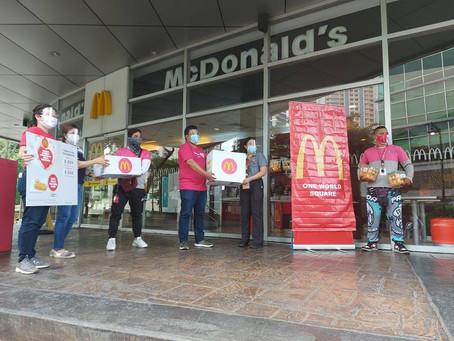 Pagsaludo ng Mcdonald's sa ating Ka-Panda Frontliners