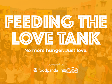 Feeding the Love Tank Project, Launched na!