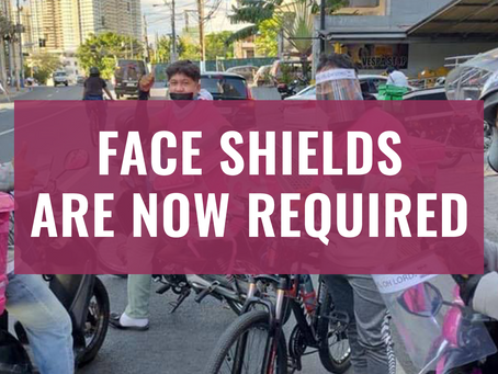 Why face shields are now required