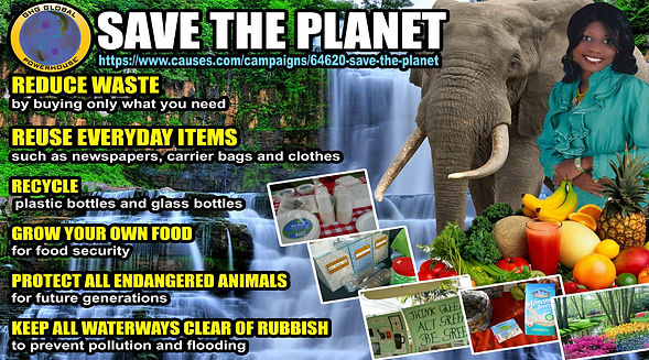 ways we can help save the planet