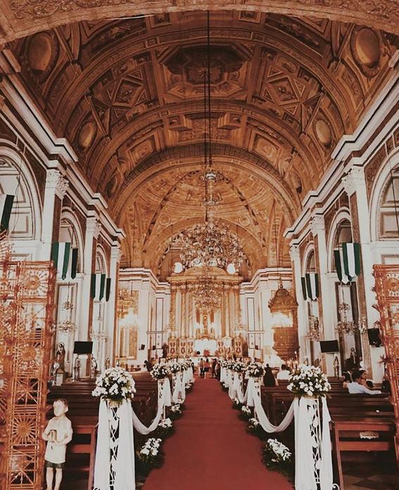 Baroque style interiors.
