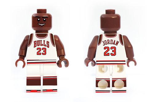 Michael Jordan Minifigure - Home Jersey
