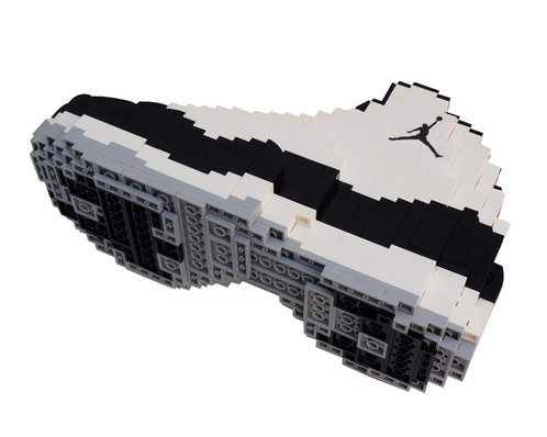 6a08c8ed3bb78 ... Air Jordan XI LEGO sets NOW available - Limited quantities - Using a  combination of over ...