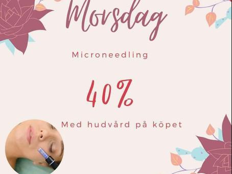 Kampanj på microneedling på mors dag
