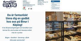 Bild på startsidan www.bivur.se, klicka och surfa...