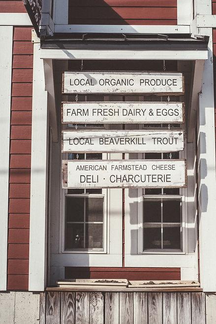 Main Street Farm, Market Cafe, Livingston Manor, NY Catskils