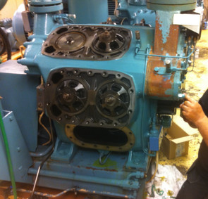 Renovering av STAL U8-kolvkompressor