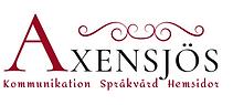 Logotype för företaget Axensjös.