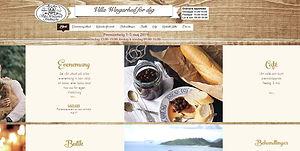 Bild på startsidan www.villawingarhed.se
