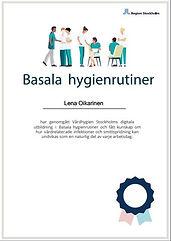Diplom basala hygienrutiner