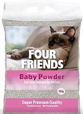 Kattsand till kattungar FourFriends