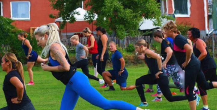 Gruppträning med Josefine Öberg