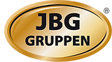 Logotype för företaget JBG-gruppen