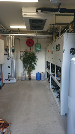 Installation av ny Co2-anläggning, ICA Moheda