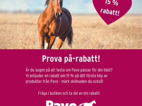 Fråga Pavo i butiken