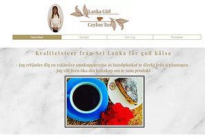 Bild på startsidan www.lankagirltea.se, klicka och surfa...