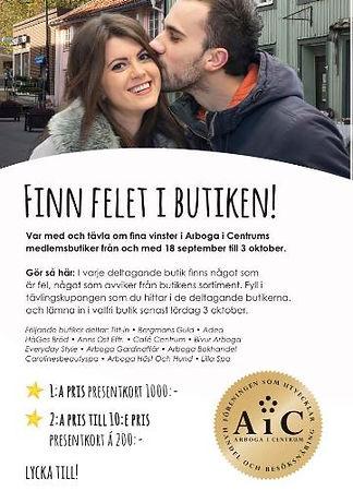 Annons i Arboga Tidning