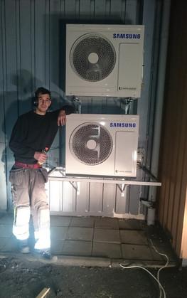 Installation av AC-anläggning