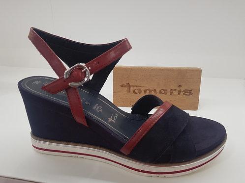 TAMARIS 28348 MARINE/ROUGE