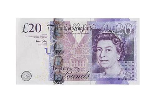 ITEM costing £20