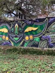 Snaker Charmer mural