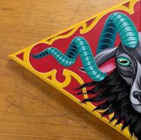 Ornate Goat