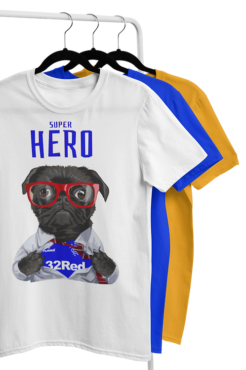 SUPER HERO T-SHIRTS - All teams available