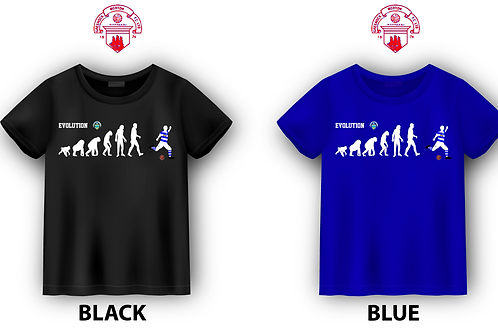 "GREENOCK MORTON FC ""EVOLUTION OF MAN"" T-SHIRT"