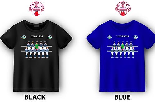"GREENOCK MORTON FC ""LEGENDS"" T-SHIRT"