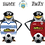 "Thumbnail: GREENOCK MORTON FC ""PENGUINS""  T-SHIRT"