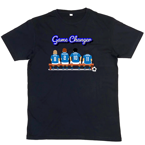 GAME CHANGER T-SHIRTS - All teams available