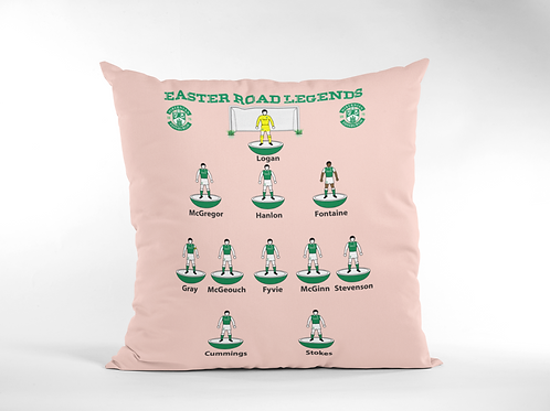HIBERNIAN FC CREAM CUSHION COVERS