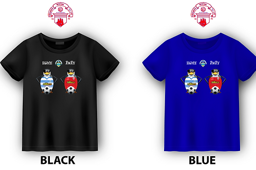 "GREENOCK MORTON FC ""PENGUINS""  T-SHIRT"