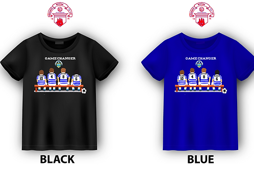 "GREENOCK MORTON FC ""GAME CHANGER"" T-SHIRT"