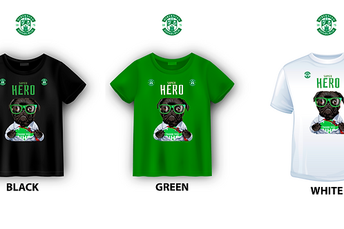 "HIBERNIAN FC ""SUPER HERO"" T-SHIRT"
