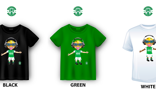 "HIBERNIAN FC ""SMILEY""  T-SHIRT"