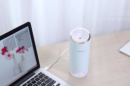 USB AIR DIFFUSER, HUMIDIFIER AROMA ESSENTIAL OIL - BEDROOM / OFFICE LIGHT