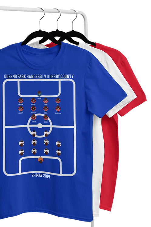 MATCH OF THE DAY T-SHIRT ( TEAMS RO - YO )