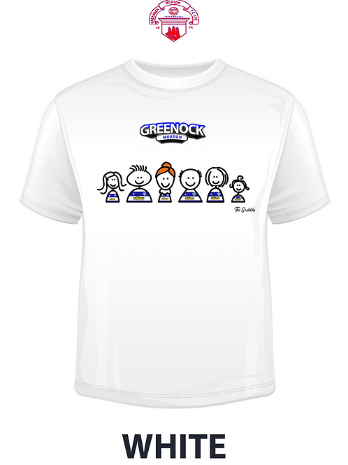 "GREENOCK MORTON FC ""The Scribbles"" T-SHIRT"