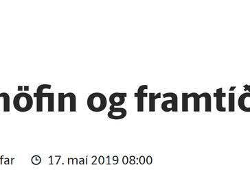 Úthöfin og framtíð okkar