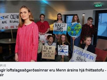 Ungir loftslagsaðgerðasinnar eru Menn ársins hjá fréttastofu Vísis, Stöðvar 2 og Bylgjunnar.