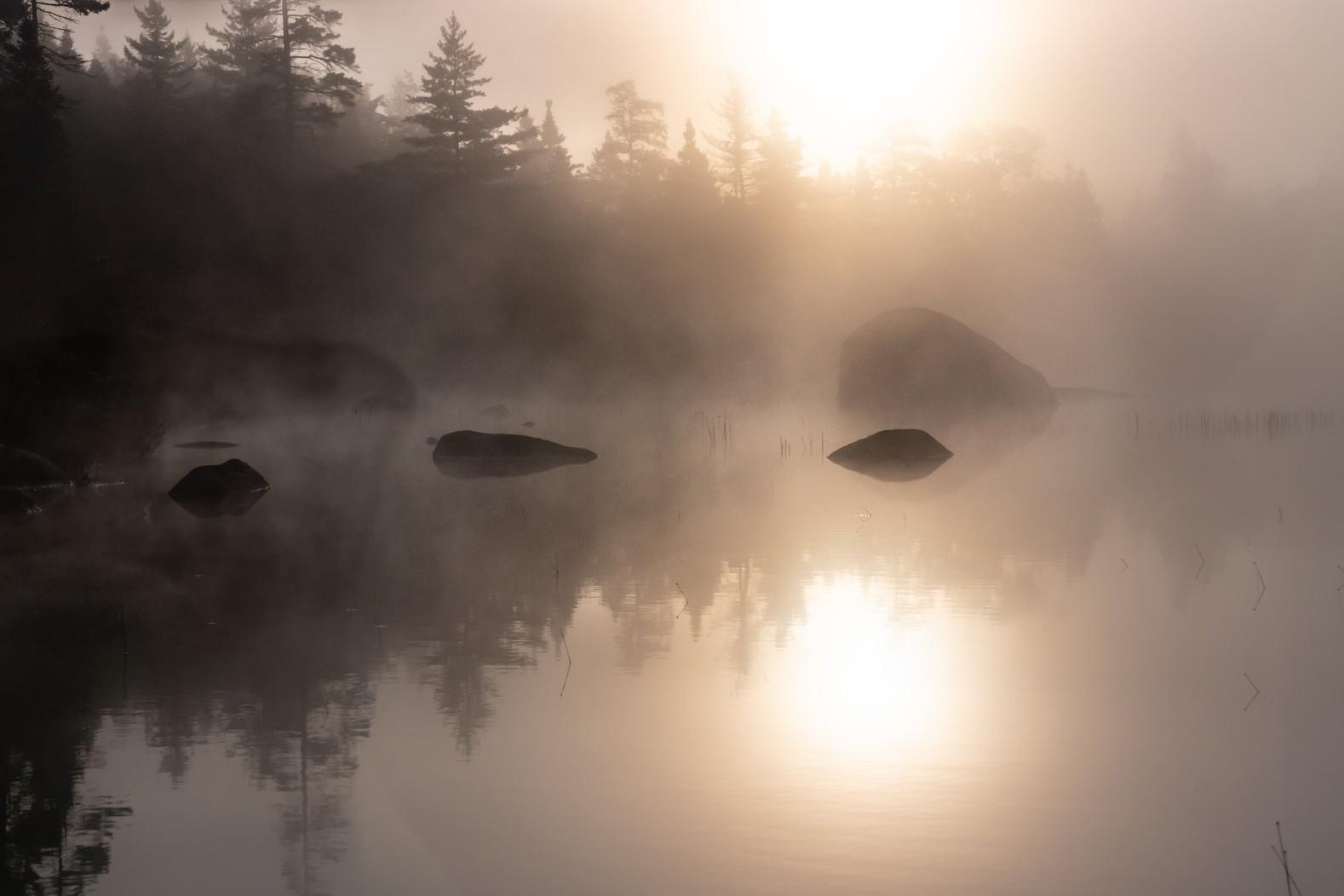 Al Havill, Crane Lake Sunrise