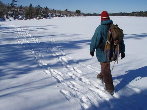 Crossing Susies Lake