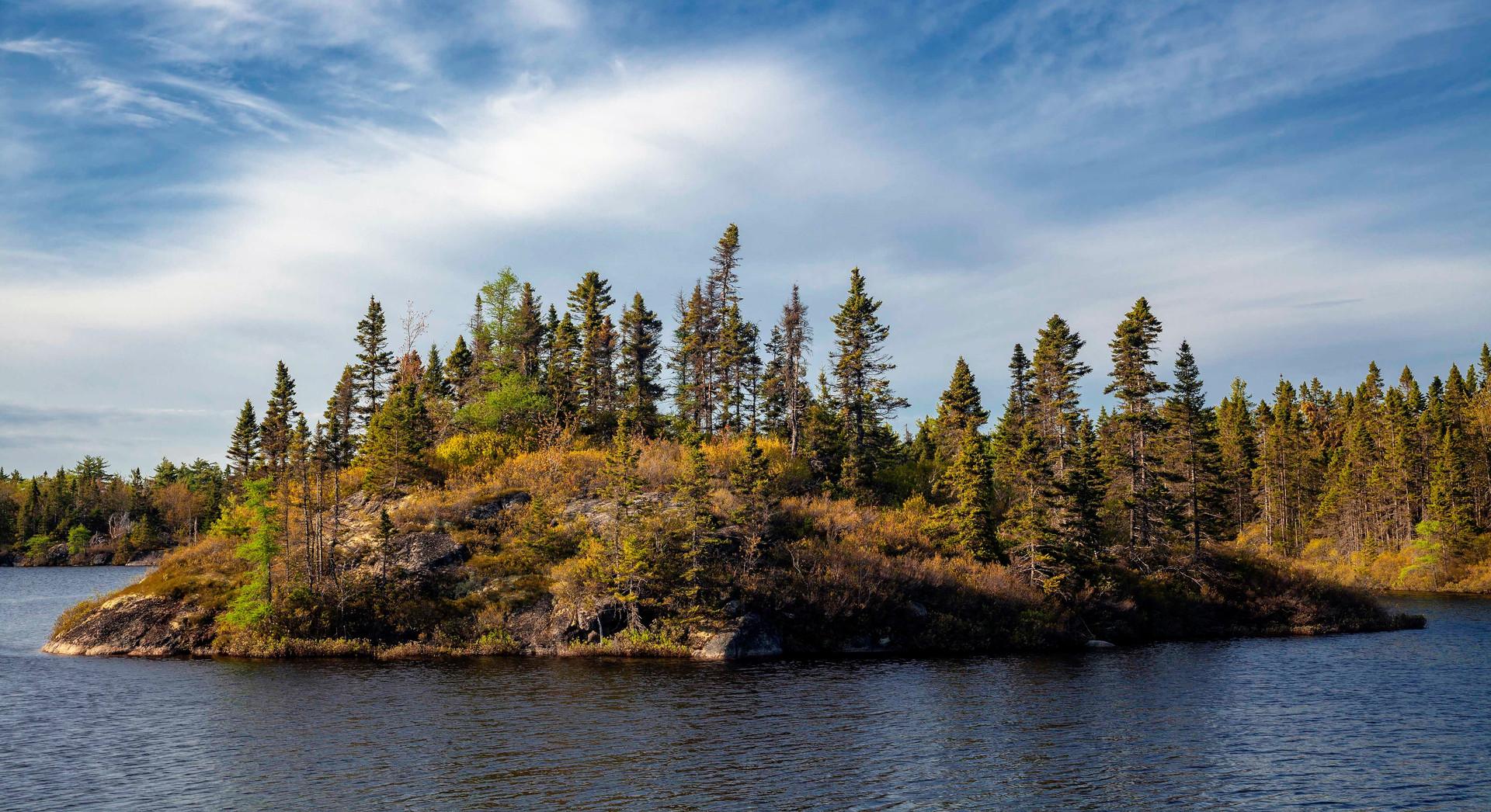 Irwin Barrett, Big Cranberry Lake & Island